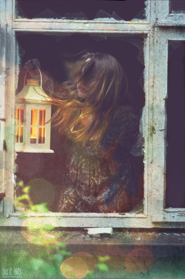 2012-06-16 20_lantern_girl_photoshoot_creative_Artistic_windswept_hair_window_broken_glass