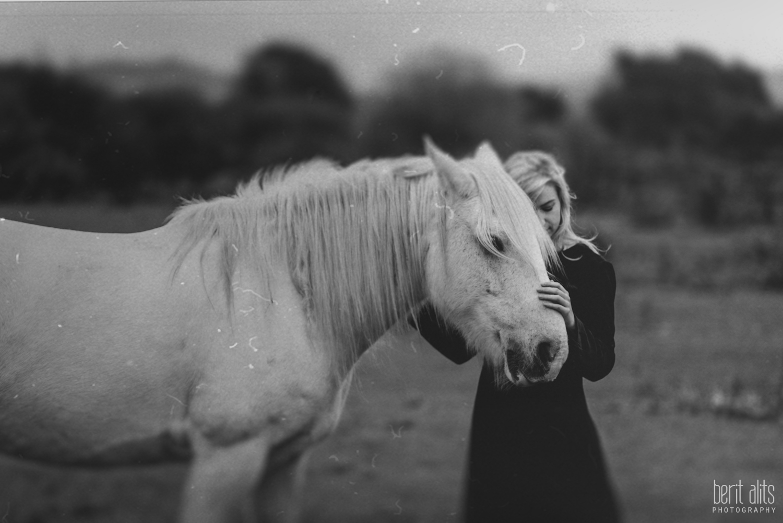 0301_model_photoshoot_clonmel_photographer_tipperary_ireland_photography_portrait_creative_dreamy_ethereal_horse_field_black_dress_dreamscape_romantic_berit_alits_