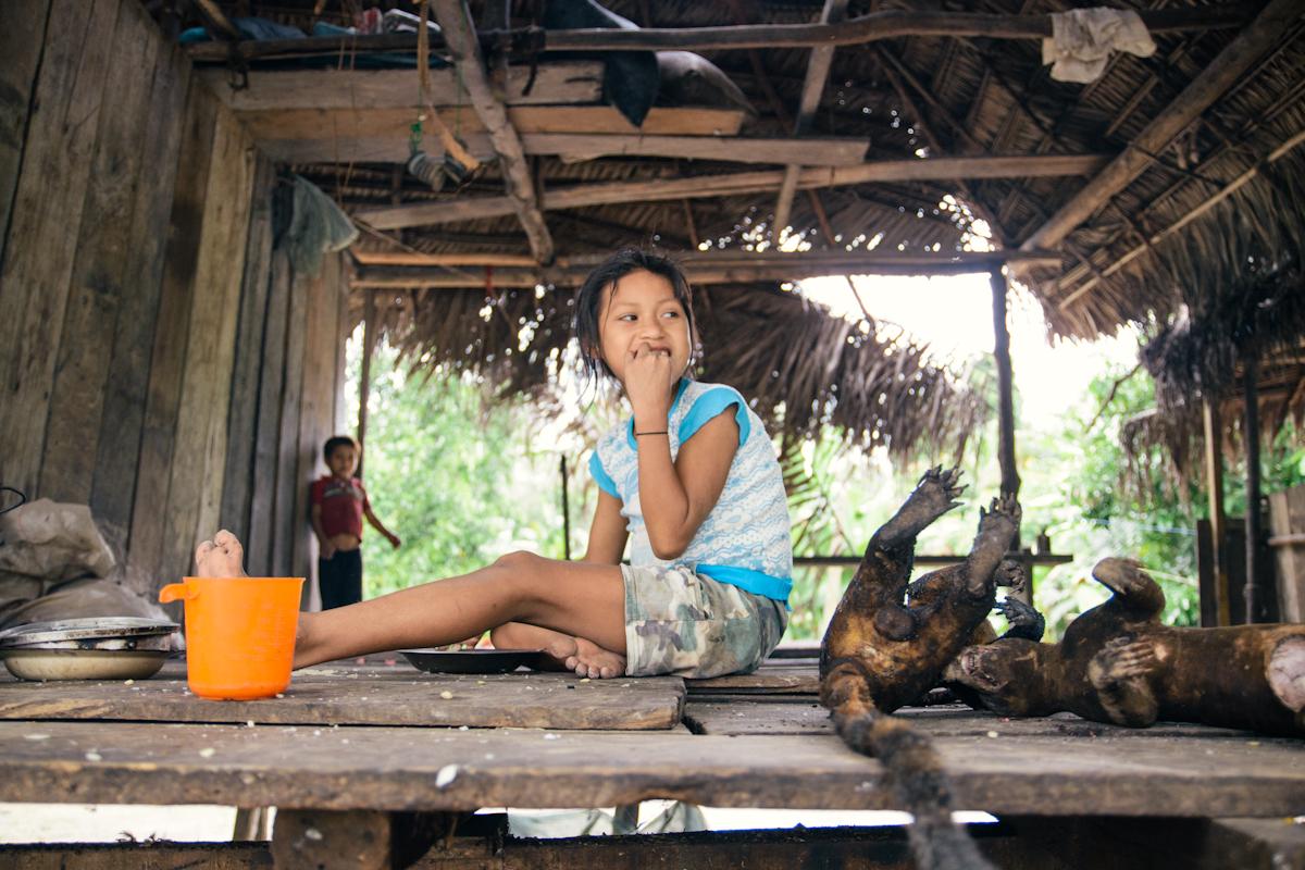 Faces of San Juan, Tamshiyaku and Ayacucho Tipishco – the Amazon villages in Peru