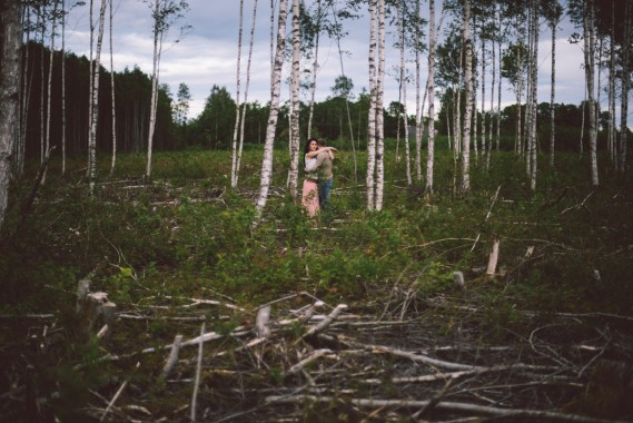 K+J: shooting in Estonian countryside