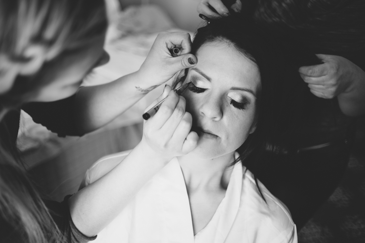 02 bridal makeup getting ready