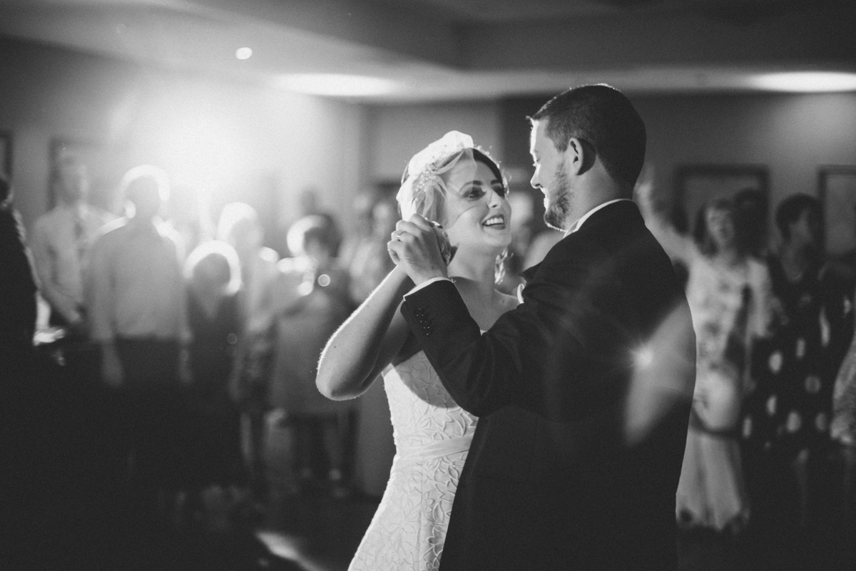 Bride and Groom first dance in Clonmel Park Hotel