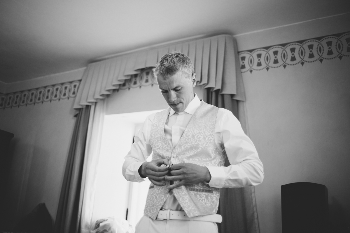 13 groom getting ready