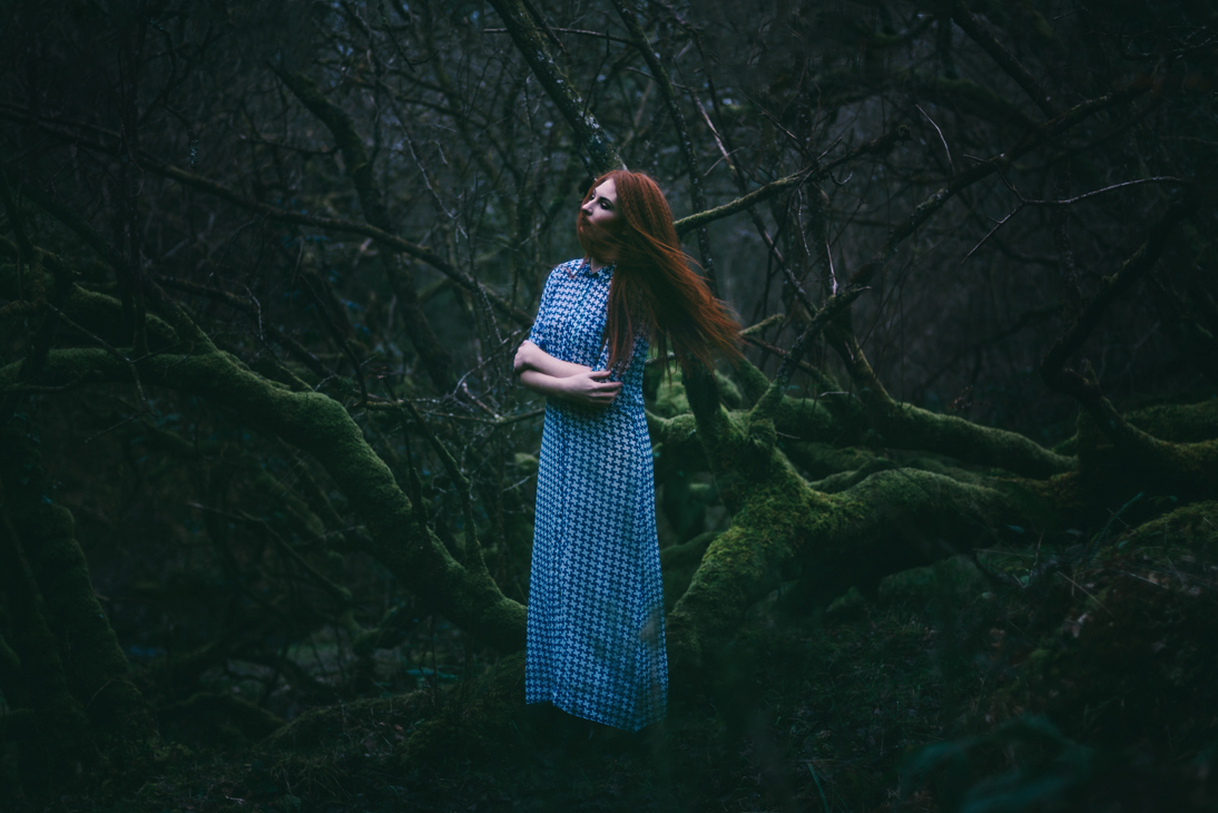 00 Forest fashion shoot in Clonmel Cp Tipperary by Berit Alits Photographer