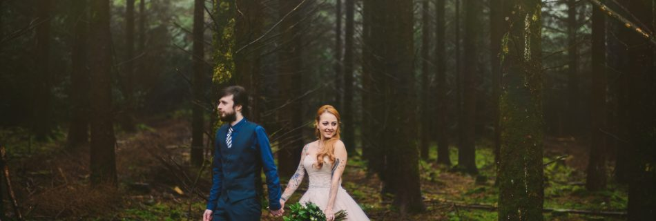 Styled Wedding Shoot in the Forest, Co.Tipperary, Ireland