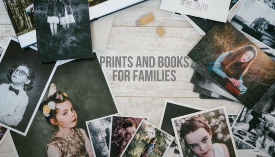 Family photo books and prints