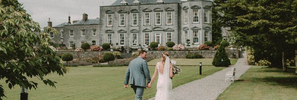 Neidin & Lanny: Irish-Canadian wedding in Castle Durrow, Co Laois