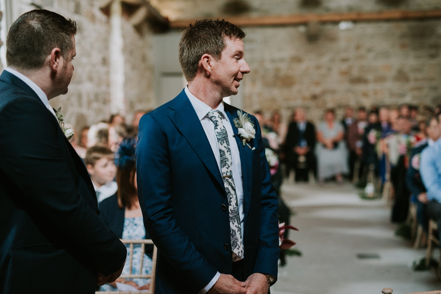 Borris House, Granary barn ceremony