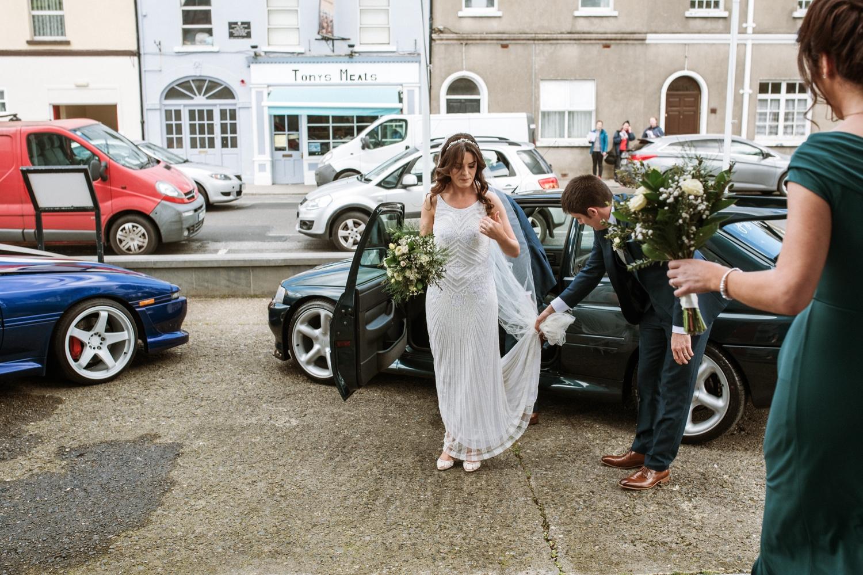 Horetown House wedding